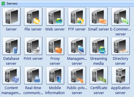 Computer Network Symbols