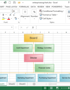 Example of enterprise org chart in ms excel also create organizational charts rh edrawsoft