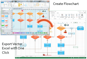 Make Greatlooking Flowcharts in Excel