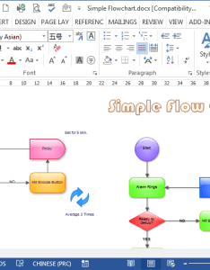 Download the flowchart word file also flowcharts in rh edrawsoft