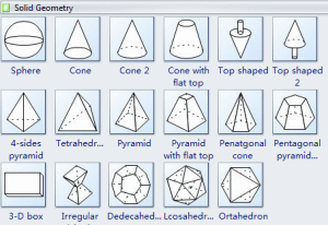 Rich Standard Shapes Let You Draw Easily