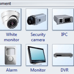 Software To Draw Flow Chart Diagram Heater Wiring Security Symbols - Standard Cctv For Video Surveillance, Sign Cameras
