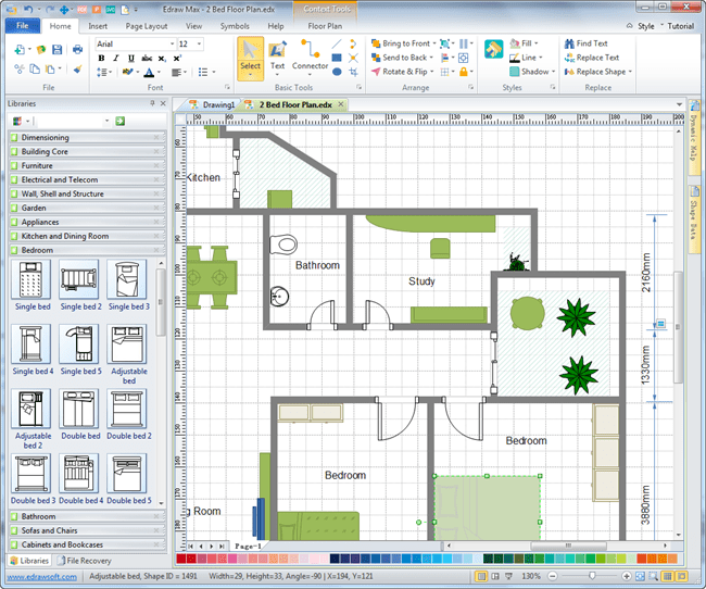 Floor Plan Tool for Real Estate Ads