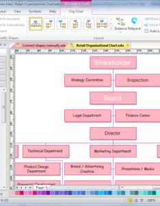 also management structure chart rh edrawsoft