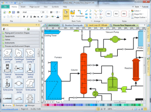 Process Flow Diagram  Draw Process Flow by Starting with PFD Drawing Software