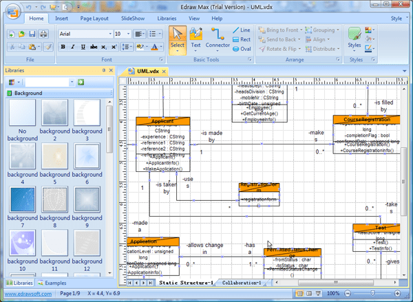 visio 2013 uml deployment diagram schematic of mass spectrometer wiring and electrical sequence