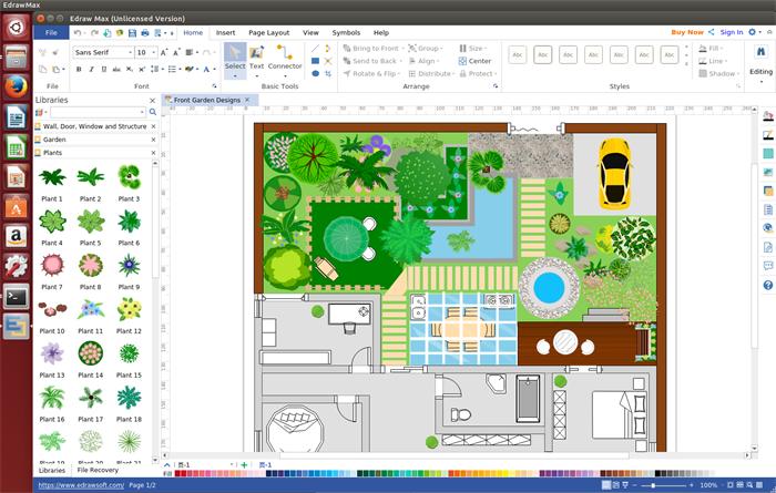garden design software for linux
