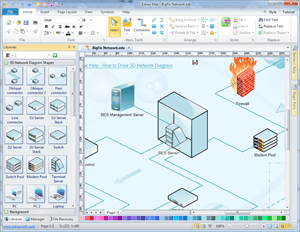 3D Network Diagram Network Diagram Solutions