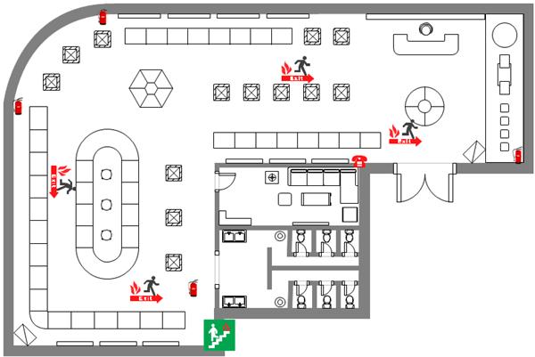 Evacuation Diagrams, Free Download Evacuation Diagram Software