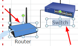 network diagram excel 4 way switch wiring multiple lights uk create for edit symbols