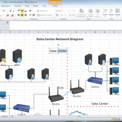 Software To Create Network Diagram Editable Venn With Lines For Excel