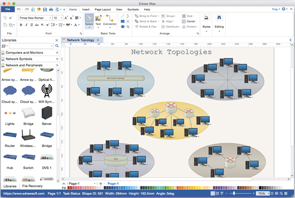 visio logical network diagram animated tree alternative to microsoft for mac