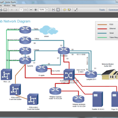 Software To Create Network Diagram Mic Wiring For Pdf Download
