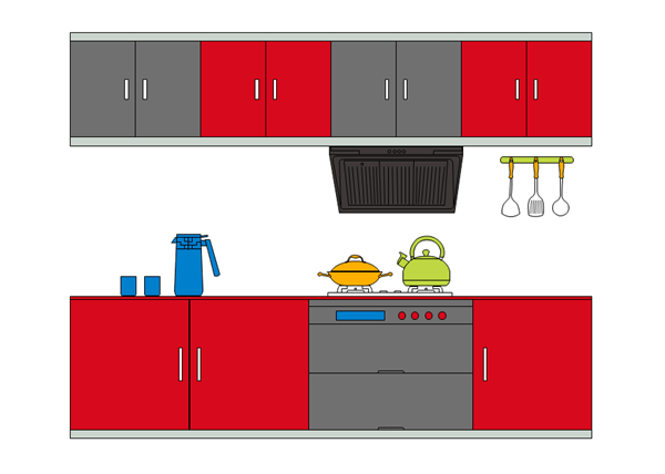 Simple Kitchen Design Tool