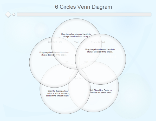 6 circle writable venn diagram example land rover discovery 3 trailer wiring circles template