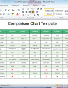 Word comparison chart template also free templates for powerpoint pdf rh edrawsoft