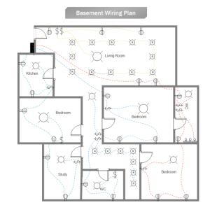 Basement Wiring Plan | Free Basement Wiring Plan Templates