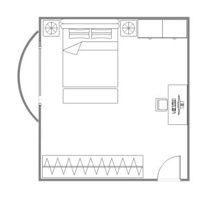 Bedroom Diagram | Online Wiring Diagram