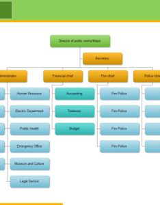 City org chart also free templates rh edrawsoft
