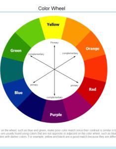 Color wheel diagram also templates for word powerpoint pdf rh edrawsoft