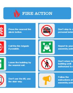 Fire action plan also free templates rh edrawsoft