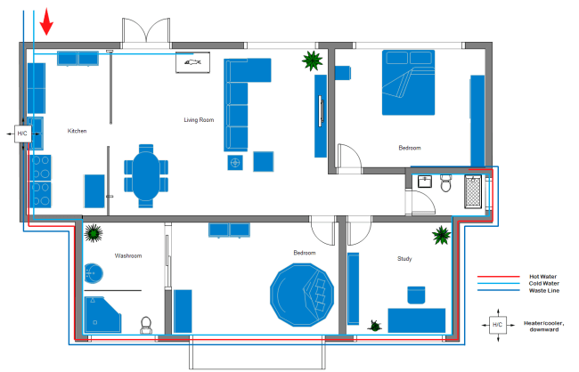 Plumbing And Piping Plan Design Guide