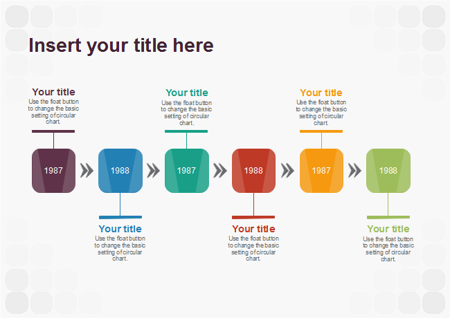 free timeline templates easy