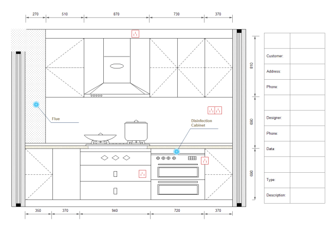 kitchen design template sink and cabinet combo kleo wagenaardentistry com www edrawsoft templates images elevati