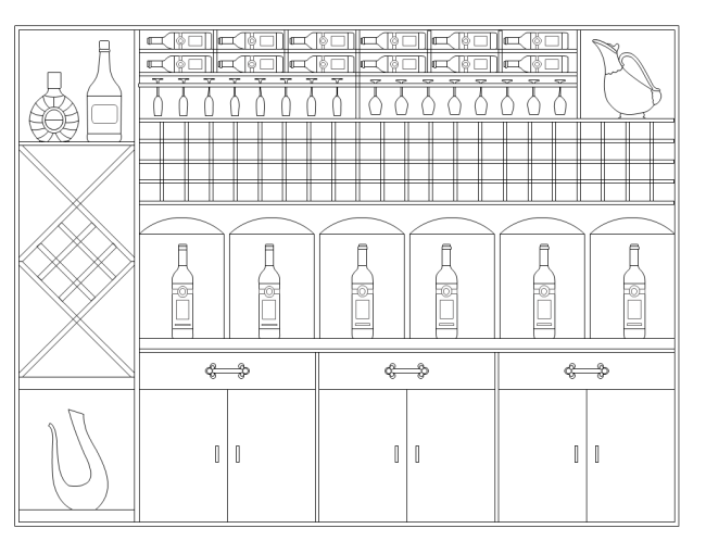 free electrical wiring diagram software telephone socket australia wine rack elevation | templates
