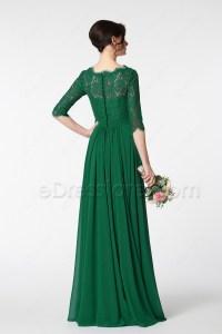 Short Emerald Green Mother Of The Bride Dresses