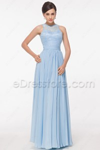 Baby Blue Bridesmaid Dresses | All Dress