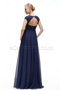 Formal Maternity Dresses Navy Blue - Prom Dresses With Pockets
