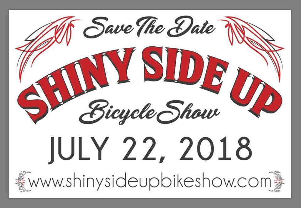 7/22/18 Shiny Side Up Bicycle Show