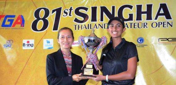 singha Thailand amateur open 2015
