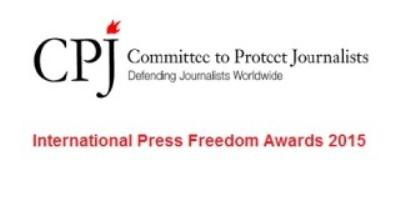 International Press Freedom Awards -2015