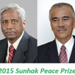 Renowned Indian agricultural scientist Snhok the first peace prize