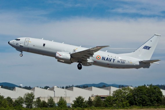 Navy's Long Range Maritime Patrol Aircraft- Boeing P-8I- Dedicated to the Nation ,Posoidon Eight India