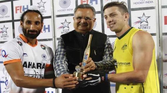 India-Australia hockey Test series -2015
