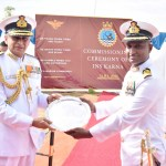 Chief of Naval Staff Commissions INS Karna