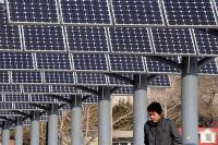 China became the biggest producer of solar energy