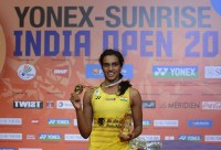 P.V. Sindhu won the Yonex India Open