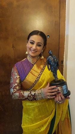 Divya Dutta Receives Her First Ever Dadasaheb Phalke Film Foundation Award