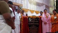 Minister of Food Processing Industries Lays Foundation Stone for Mega Food Park being developed by KINFRA at Palakkad in Kerala