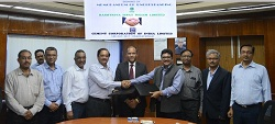 MoU between RINL and CCI for setting up Cement Plant