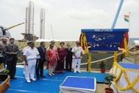 First Two NOPVs Shachi and Shruti launched by RDEL at Pipavav, Gujarat