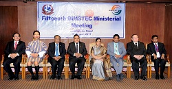The 15th BIMSTEC ministerial meeting