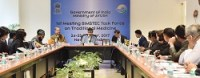 The Special Secretary, Ministry of AYUSH, Shri Vaidya Rajesh Kotecha hosting the 1st Meeting of the BIMSTEC Task Force on Traditional Medicine, in New Delhi on October 24, 2017.