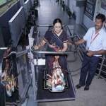 Wheel chair lift facility at Hyderabad airport