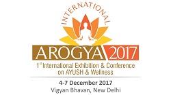 First ever International Conference cum Exhibition Arogya 2017