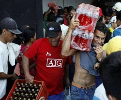 Four Killed In Venezuela Food Looting Violence